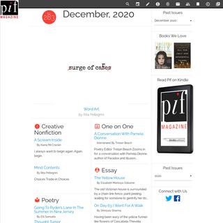 Issue #283 - Pif Magazine - December, 2020
