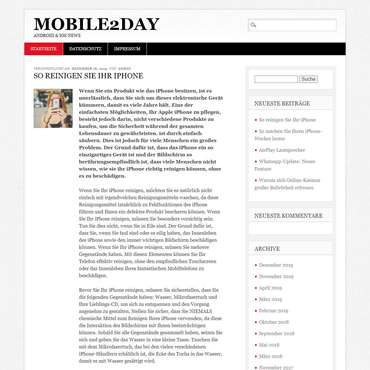 mobile2day – Android & iOS News