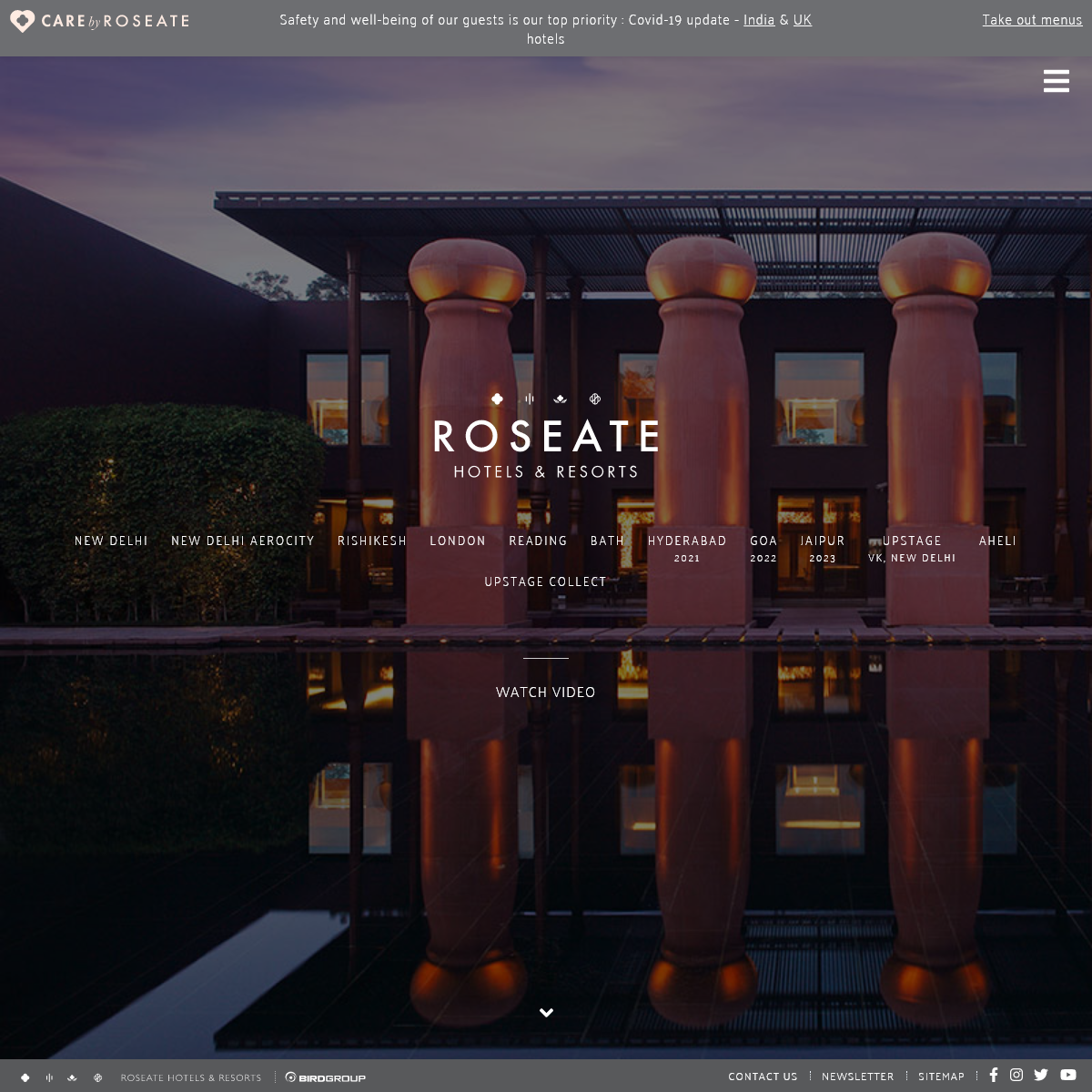 Roseate Hotels and Resorts - Luxury Hotels and Resorts in India & United Kingdom