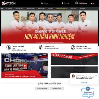 5068+ Đồng Hồ Chính Hãng Thời Trang Cao Cấp tại Xwatch