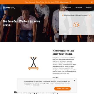 Group Fitness Class & Interval Training - Orangetheory Fitness US