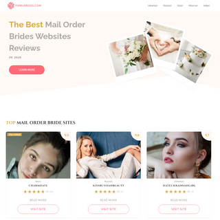 Mail Order Brides Dating Sites Review By PrimaBrides™ Experts