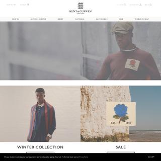 Fashion Clothing - Shop British Menswear Online at Kent & Curwen