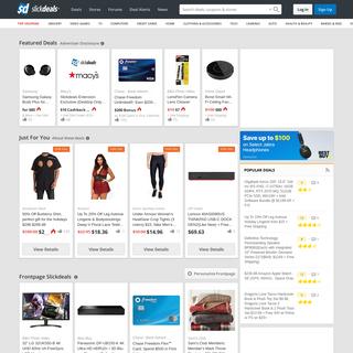 Slickdeals- The Best Deals, Coupons, Promo Codes & Discounts