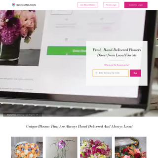 Send Flowers- Flower Delivery by Local Florists - BloomNation