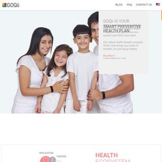 GOQii – Smart Preventive Health Ecosystem