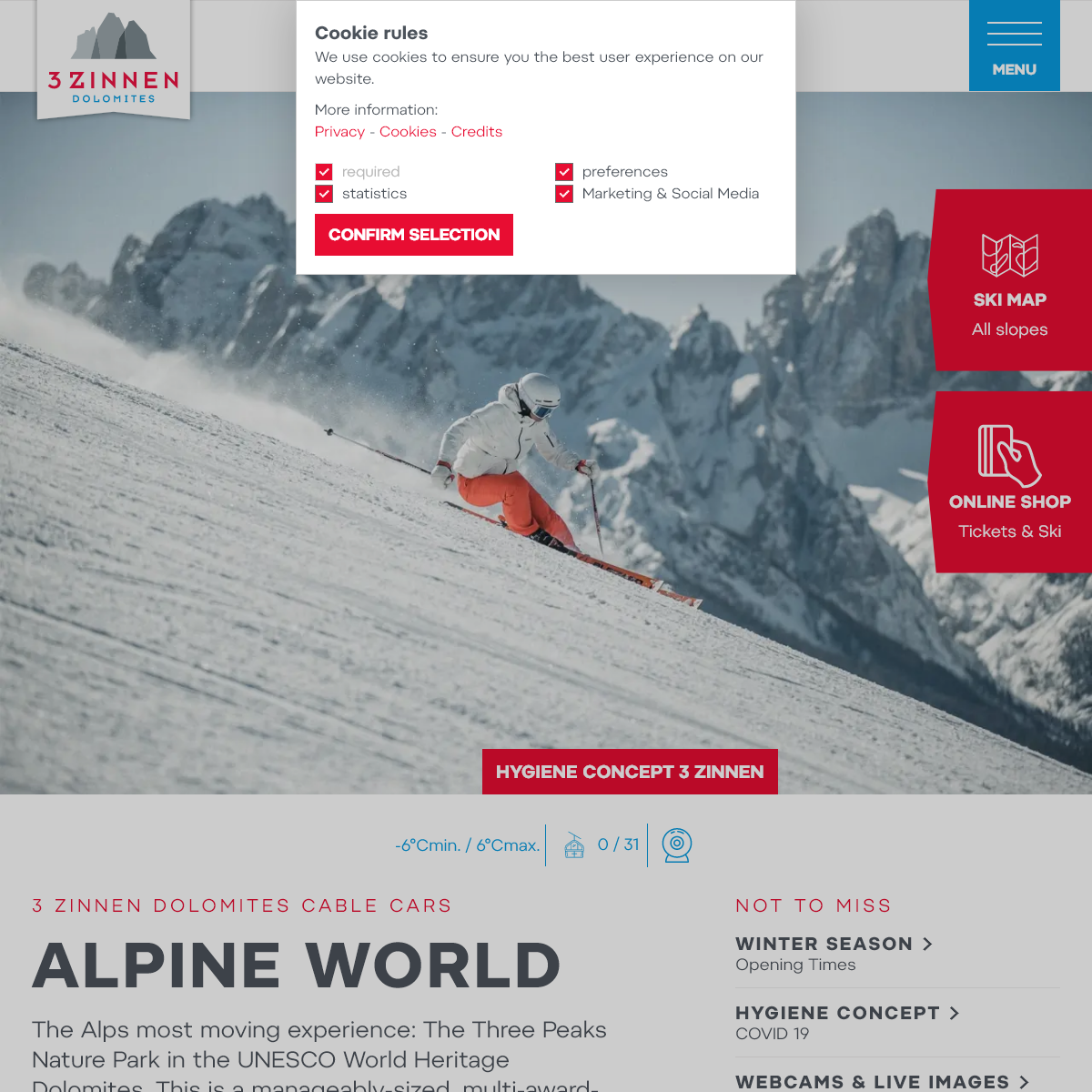 Ski Dolomites Three Peaks Dolomites (f.k.a. Sesto Dolomites)