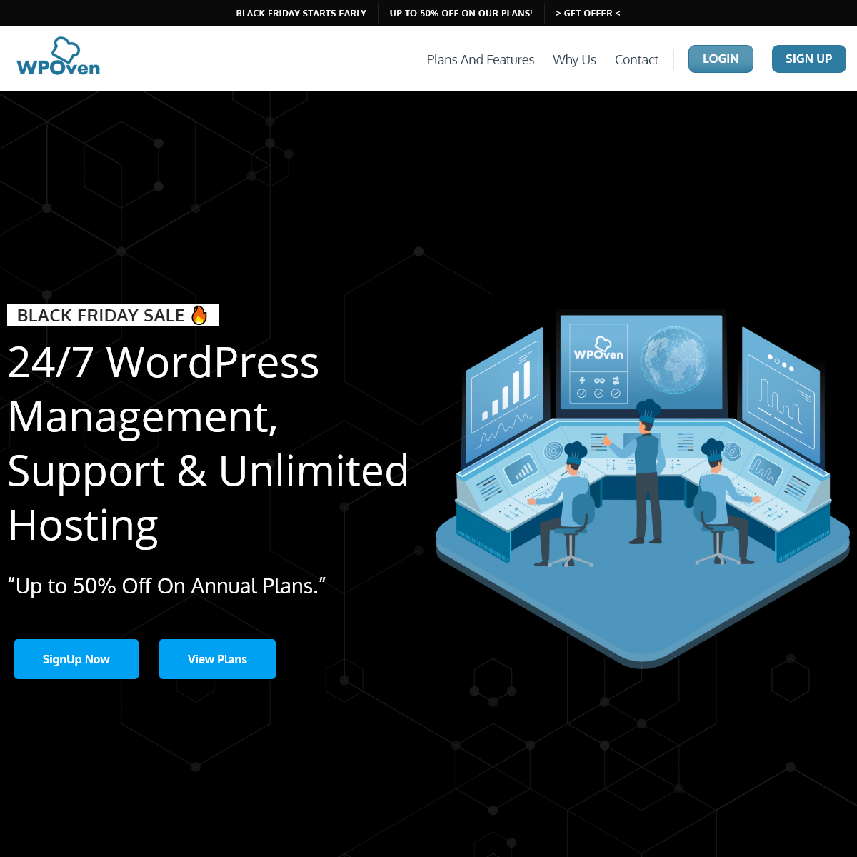 WPOven- Managed WordPress Hosting For Fast And Unlimited Sites