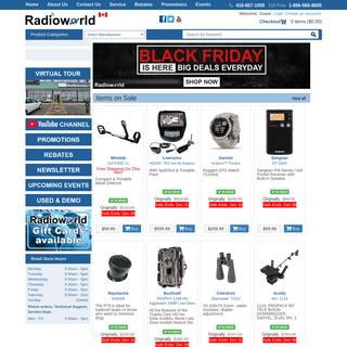 @ Radioworld Toronto - Amateur Radio, Ham Radio, GPS, Garmin GPS, Garmin Motorcycle GPS, Garmin Car GPS, Garmin Truck GPS, Minel