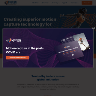 Motion Analysis Corporation - Motion Capture Camera & Software Leader