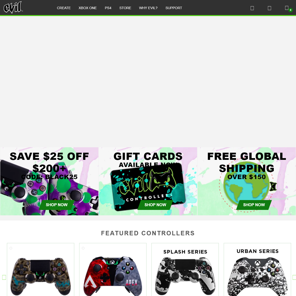 Modded Controller and Custom Controller For Xbox One and PS4 - Evil Controllers