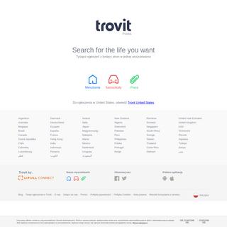 Trovit - Wyszukiwarka ofert mieszkań, samochodów i pracy