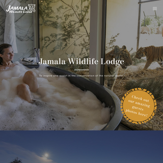 Jamala Wildlife Lodge - To inspire and assist in the conservation of the natural world.