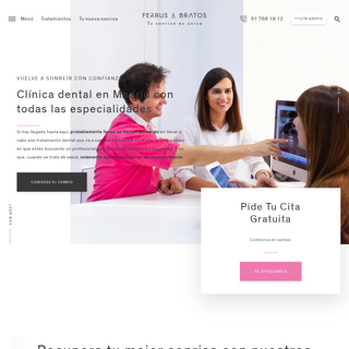 Clínica dental en Madrid- todas las especialidades - Ferrus&Bratos