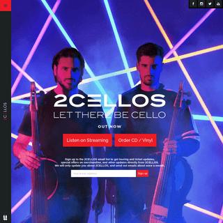 2CELLOS Official Website