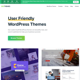 DeoThemes - User Friendly WordPress Themes For Your Business