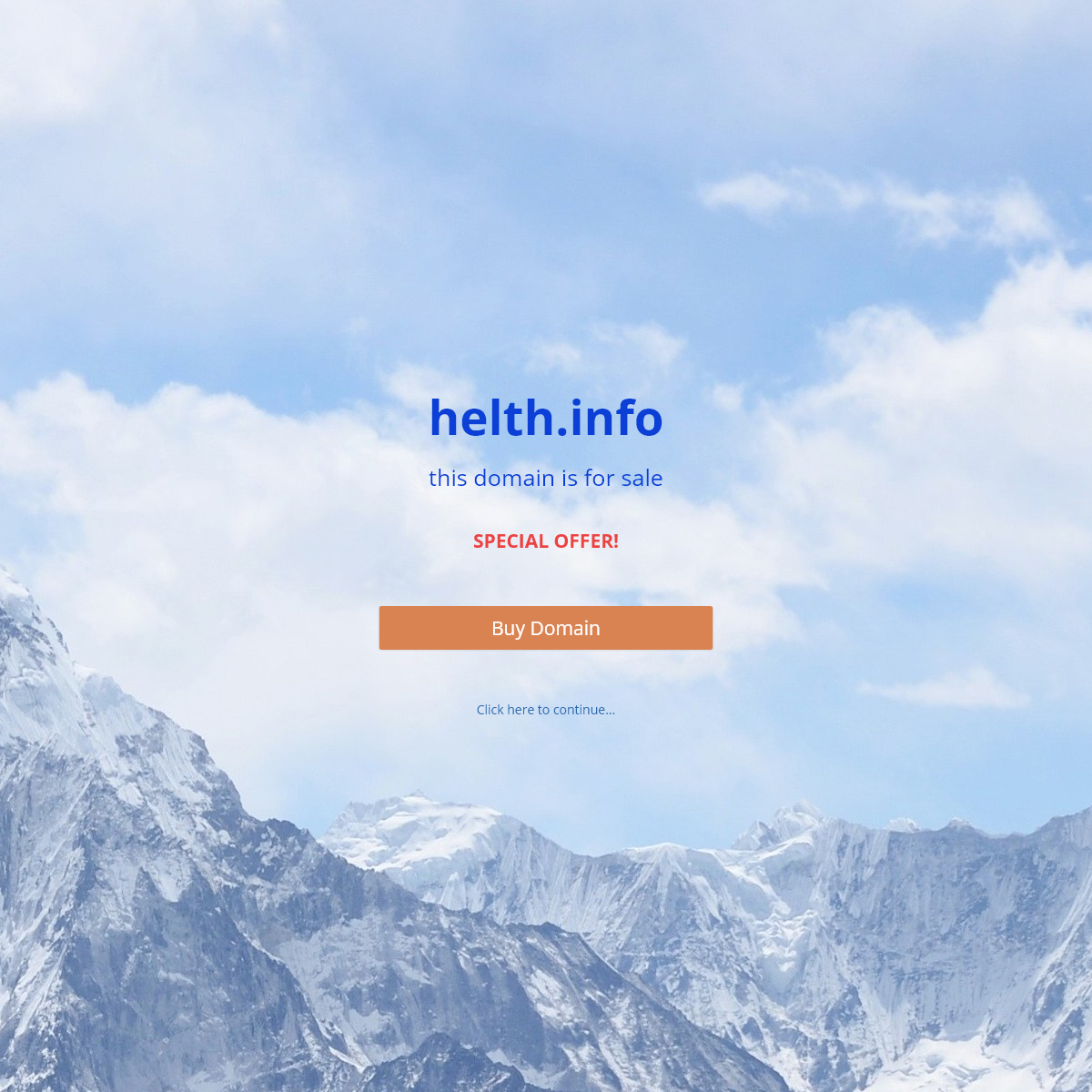 helth.info - For Sale!
