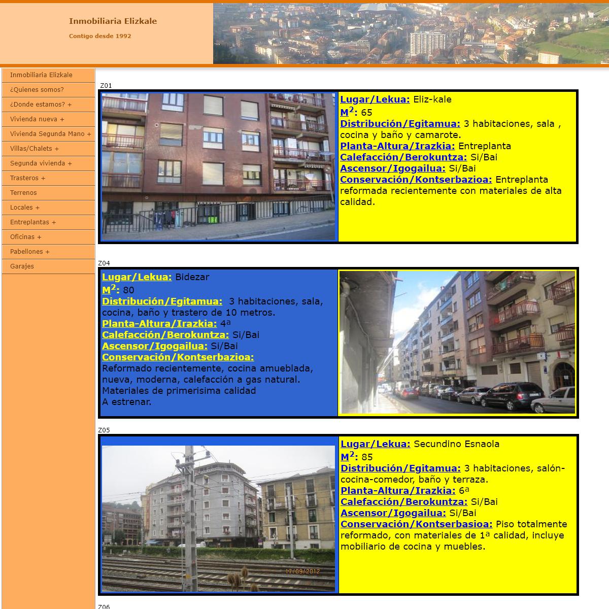 Inmobiliaria Elizkale
