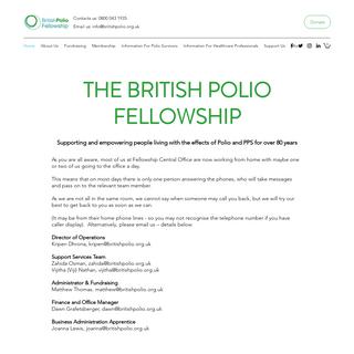Home - British Polio Fellowship