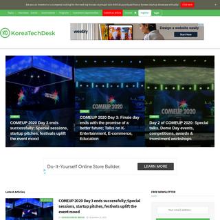 KoreaTechDesk - Korea`s Leading Tech and Startup Media Platform