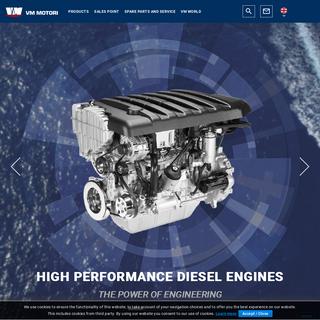 VM Motori Realizzazione Motori Diesel - VM Motori