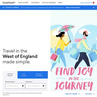 Homepage - Travelwest