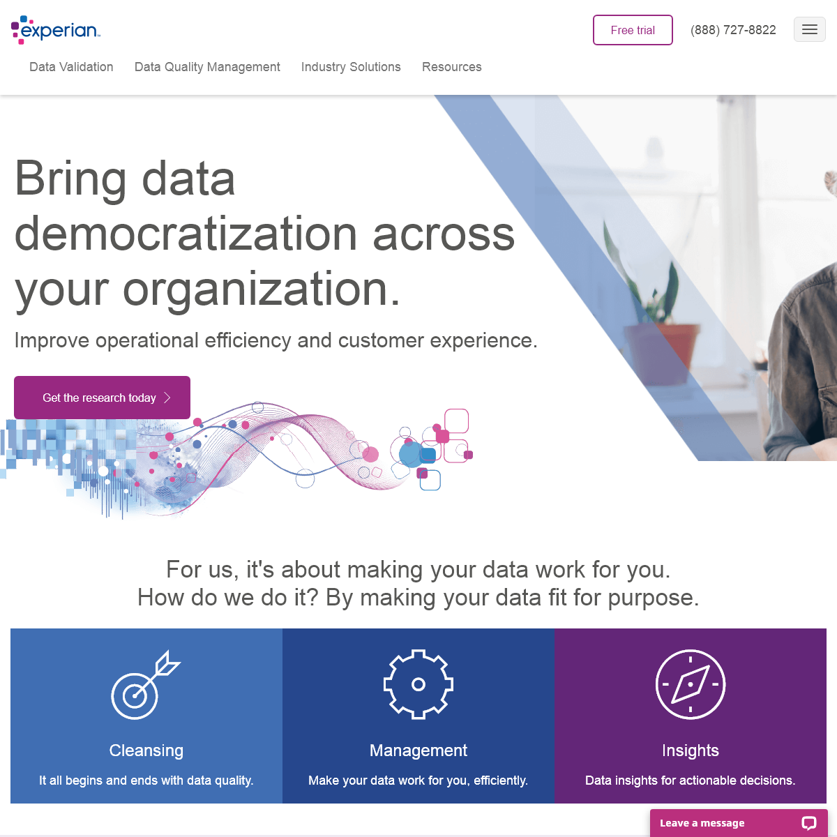 Data Quality Management Solutions & Services - Experian