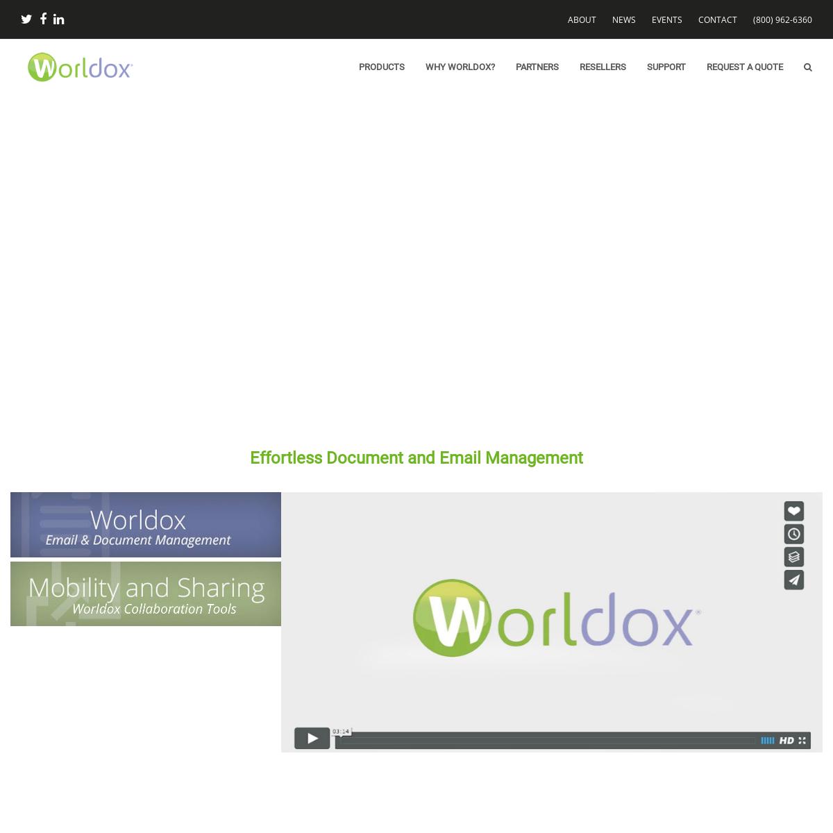 Document Management Made Easy - Worldox Document Management