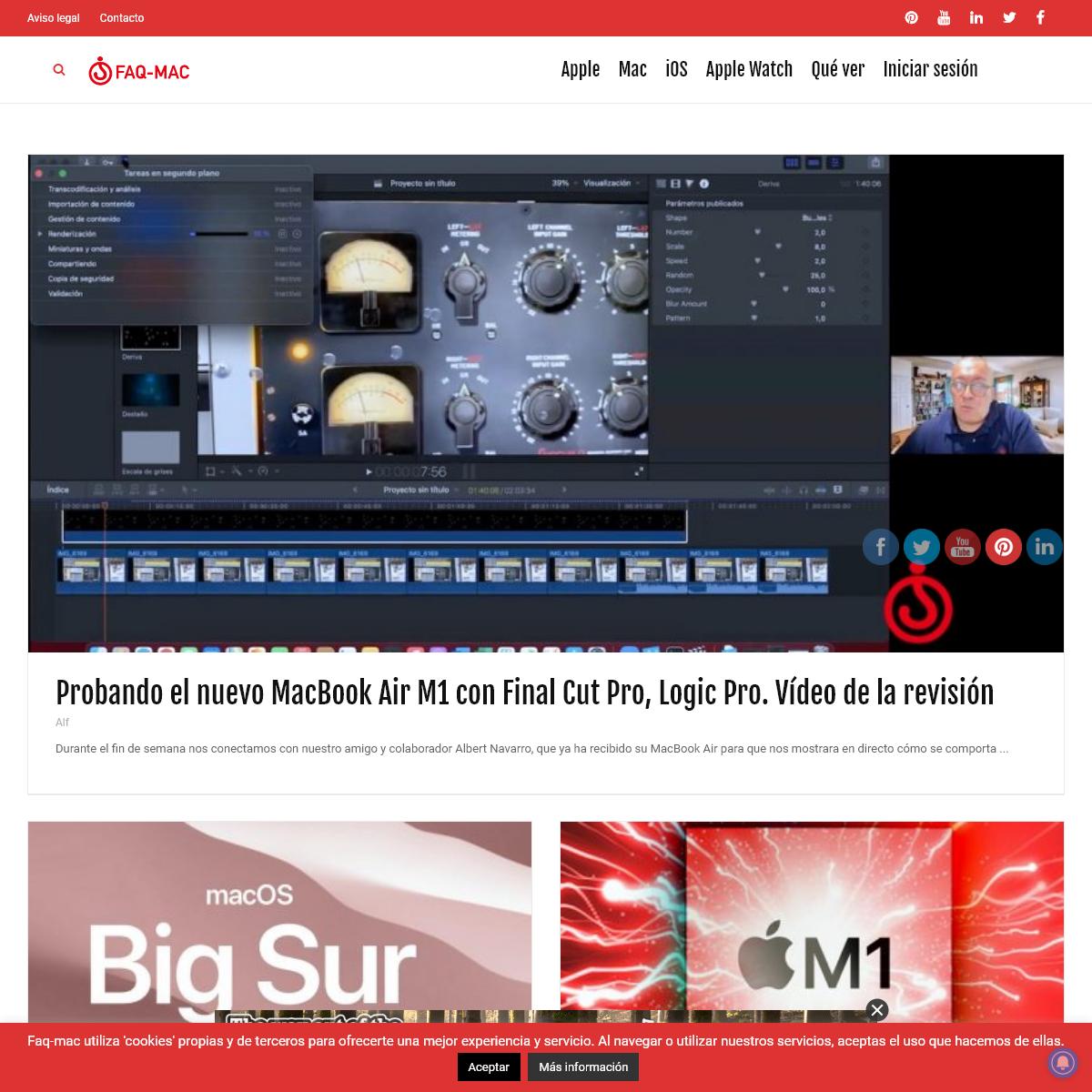 Faq-mac – Apple, Mac, iPhone, iPad, Apple Watch. Tutoriales, Soporte, Noticias, Revisiones