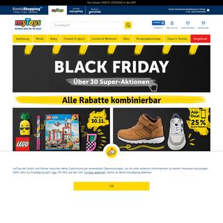 myToys Online Shop - Einfach alles für Ihr Kind