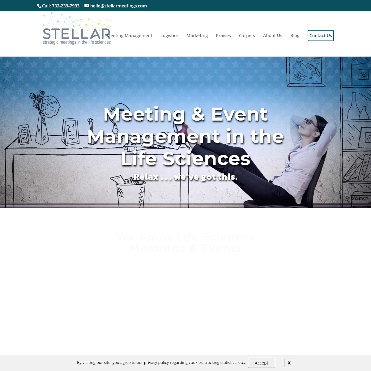 Event management & meeting production for the life sciences - Stellar