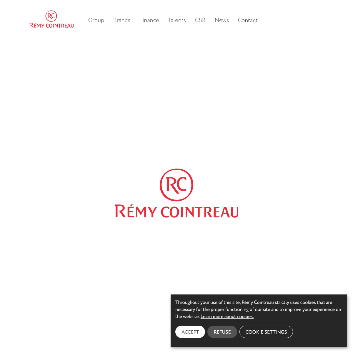 Rémy Cointreau – Rémy Cointreau is a French spirits group. Its main business is the production of cognacs, liqueurs and cham