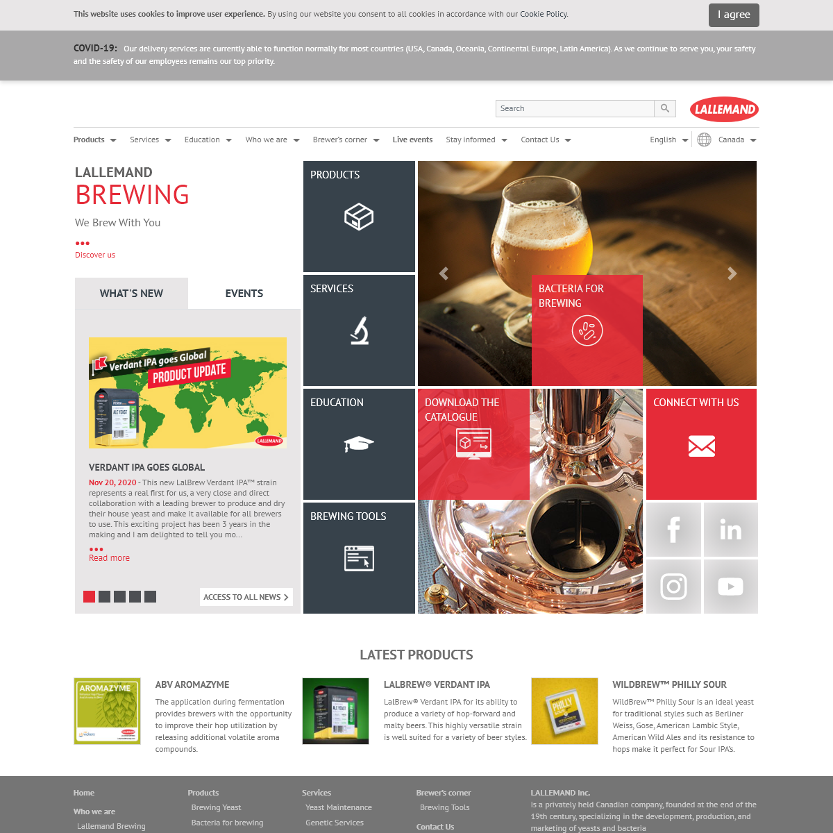 Home - Lallemand Brewing