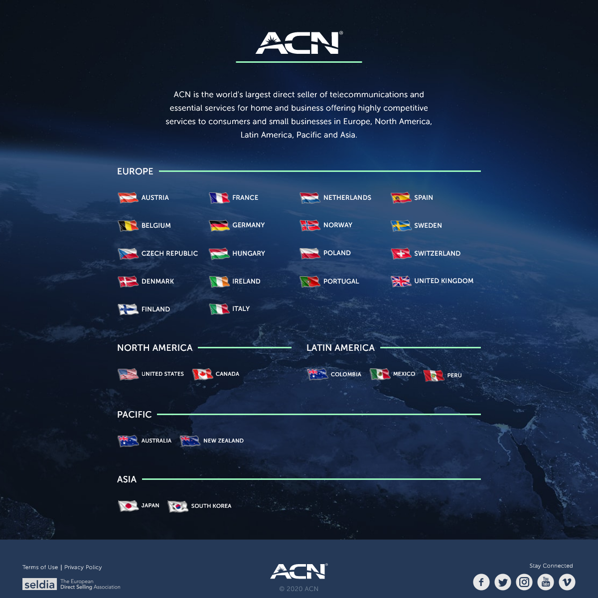 ACN - Direct Seller of Essential Services for home and business