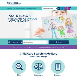 The way Australian families find child care - CareforKids.com.au