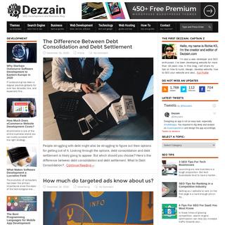 DEZZAIN.COM - SEO, Development and Business Blog