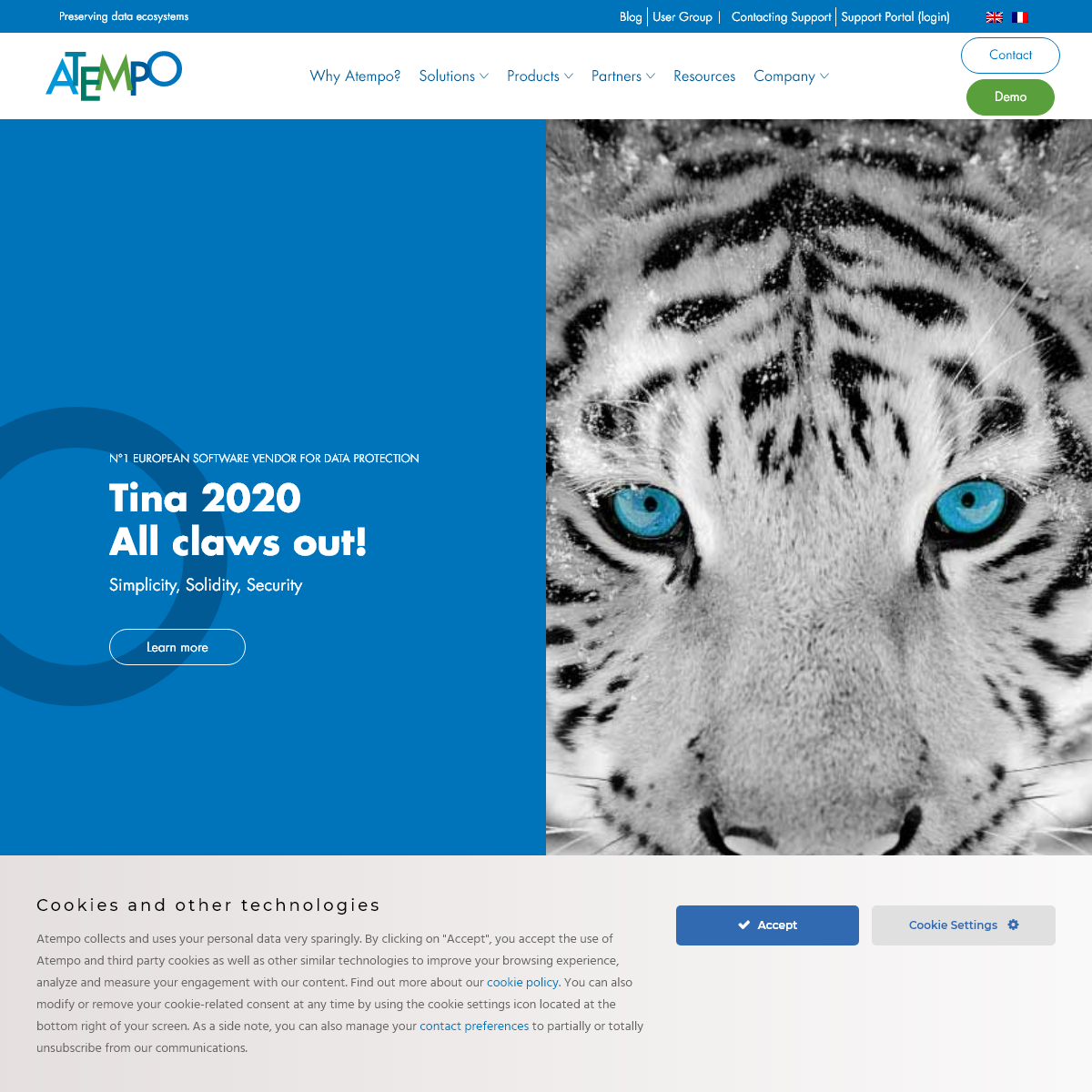 Atempo Data Management Solutions - Homepage - Atempo