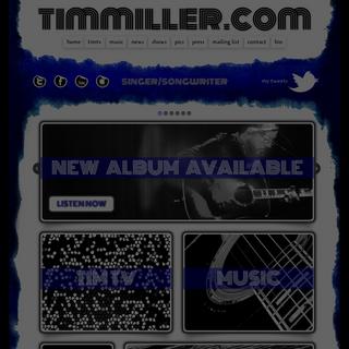 singer-songwriter « timmiller.com