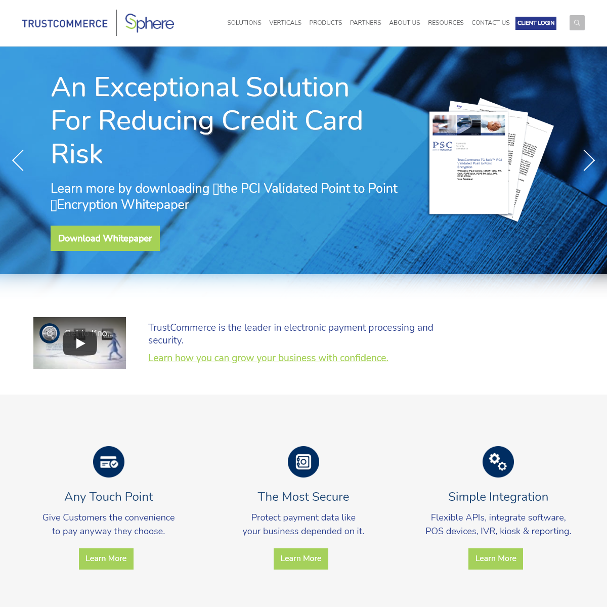Secure Payment Processing Solutions - TrustCommerce