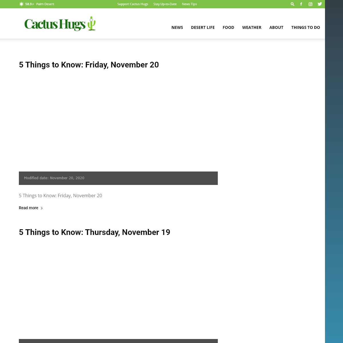 Palm Springs News and Entertainment - Cactus Hugs