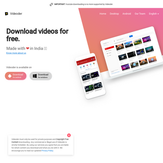 Videoder - Free Youtube Video and Music Downloader for Android and PC