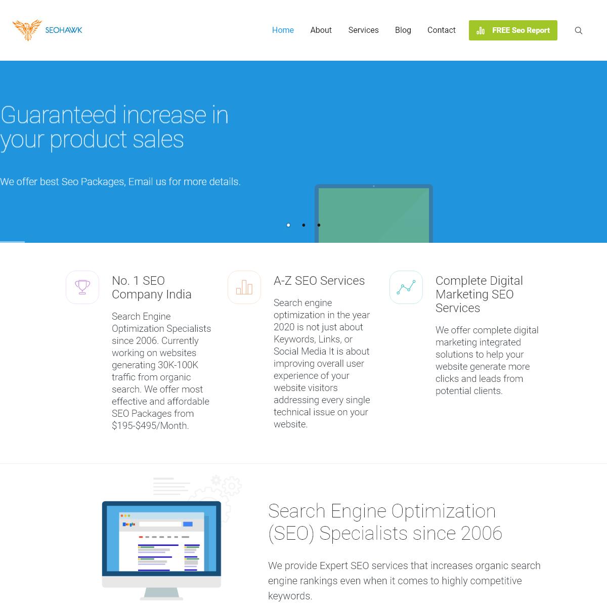 Search Engine Optimization (SEO) Company - SEOHAWK