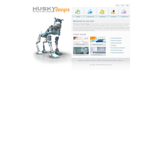 A complete backup of huskydesigns.com