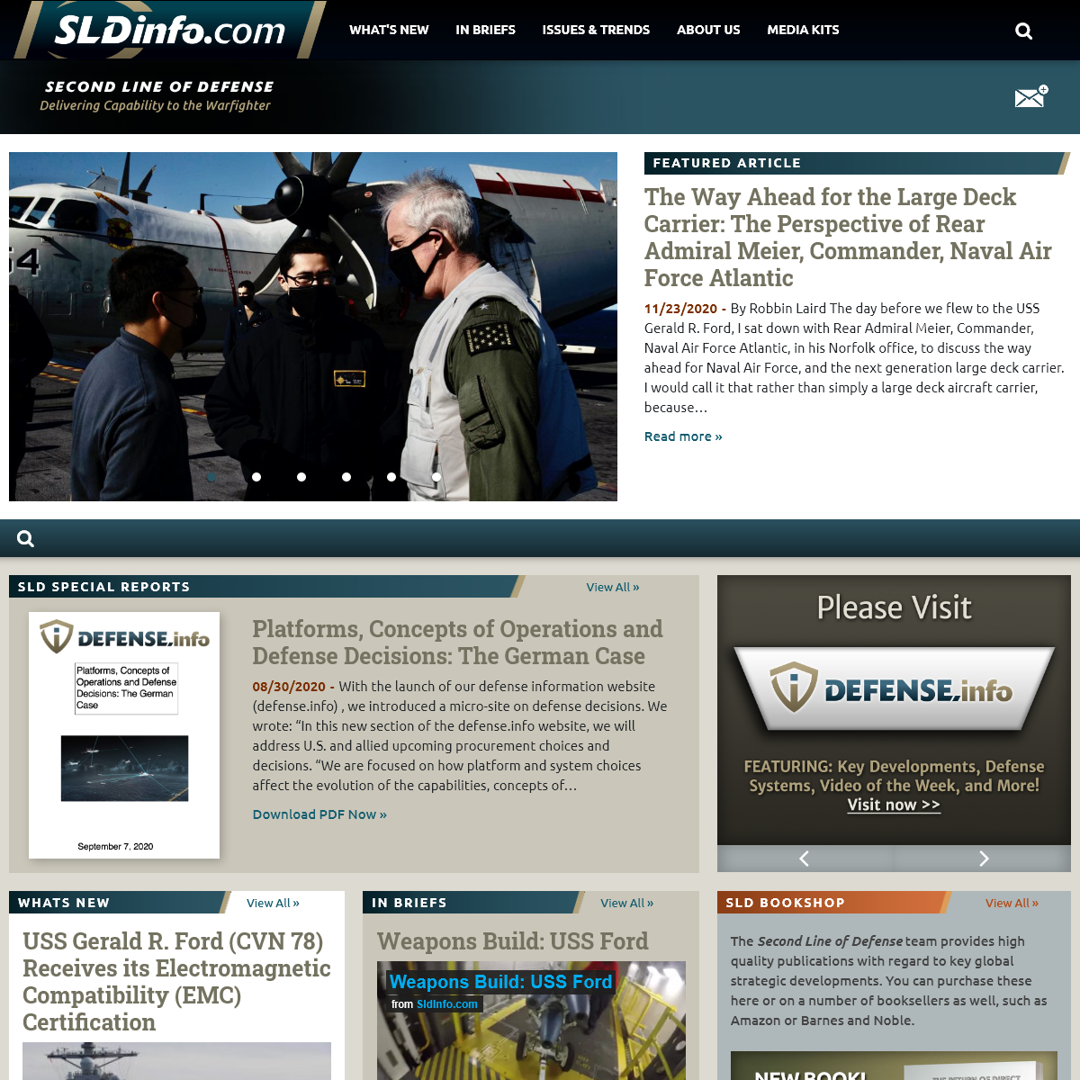 SLDinfo.com - Second Line of Defense - Delivering Capability to the Warfighter