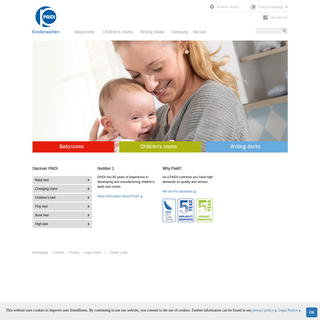 Homepage- PAIDI — Furniture for children and babies