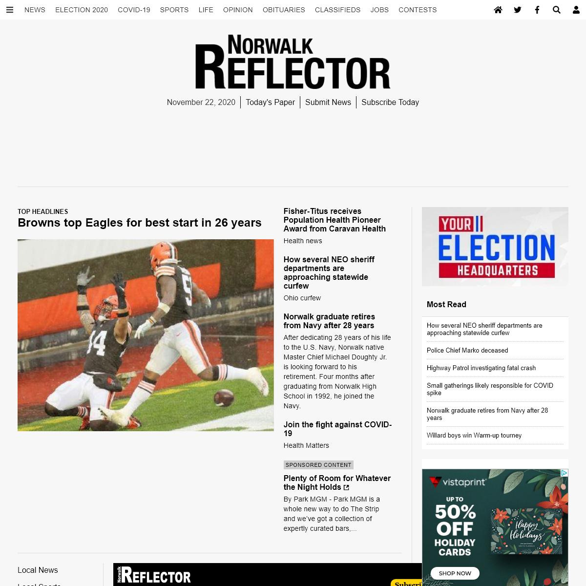 Norwalk Ohio News - Norwalk Reflector