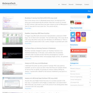 MalwareTech - Life of a Malware Analyst