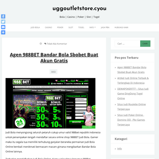 uggoutletstore.cyou - Bola - Casino - Poker - Slot - Togel
