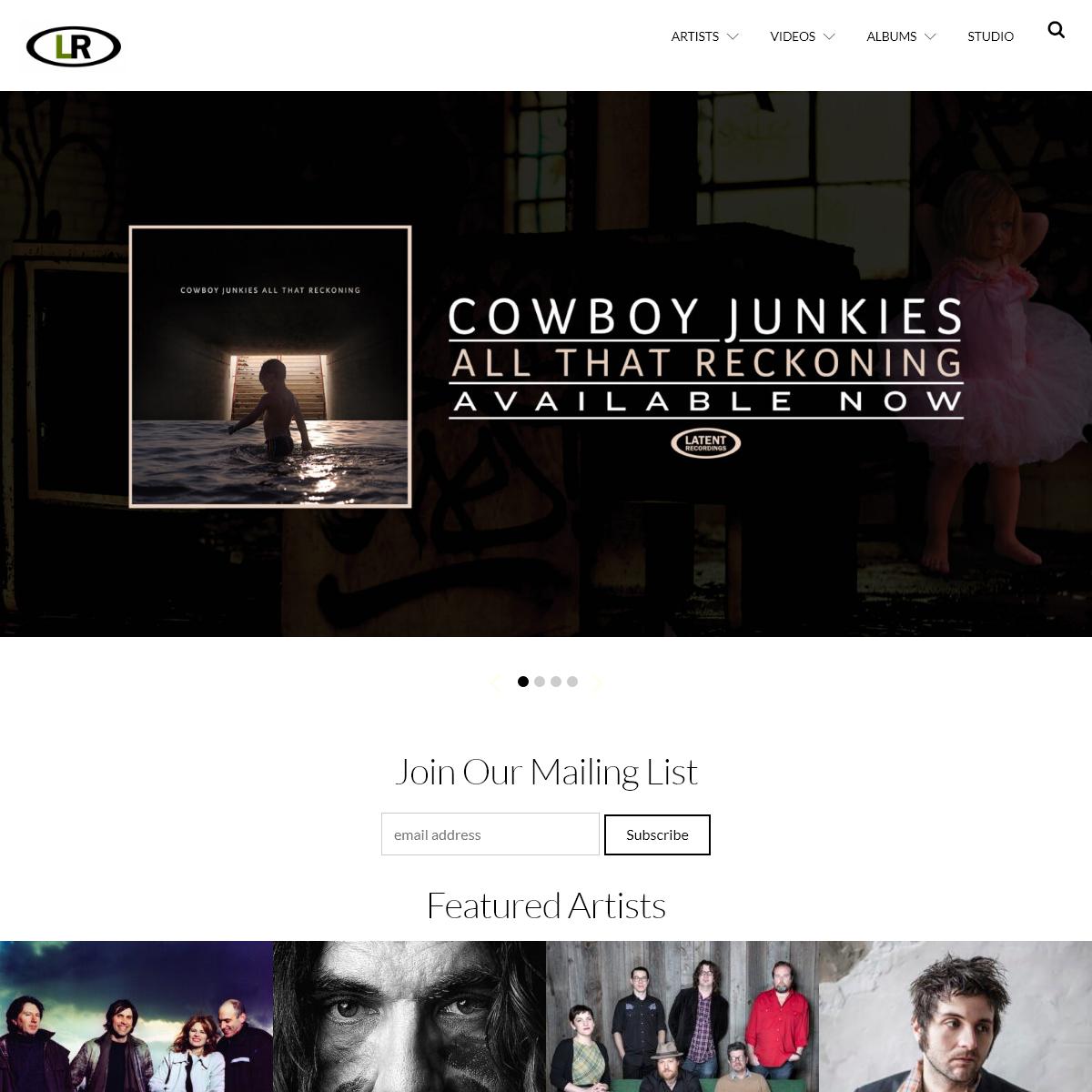 Latent Recordings – Latent Recordings