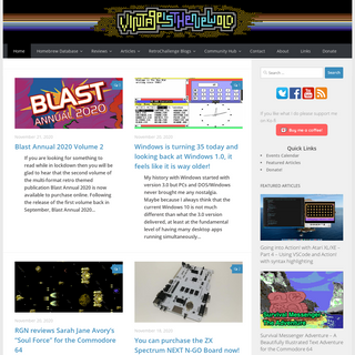 Vintage is the New Old, Retro Games News, Retro Gaming, Retro Computing
